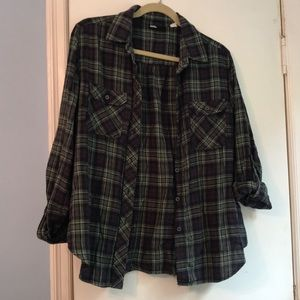 BDG (Urban Outfitters) plaid button up